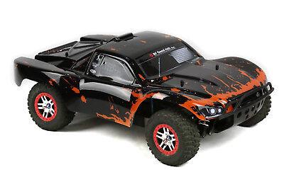 Custom Body Muddy Orange for Traxxas 1//16 Summit Mini Truck Car Shell Cover 1:16