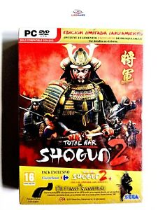 Total-War-Shogun-2-Edition-Limitee-PC-Scelle-Videogame-Scelle-Videojuego-Sp