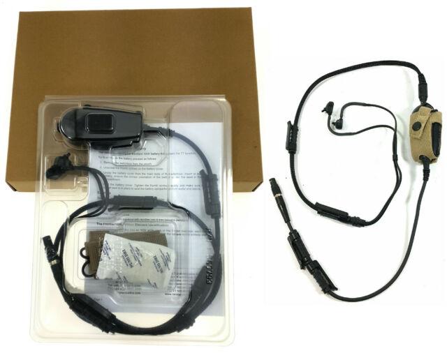 Military army bowman radio headset used
