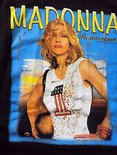 Original MADONNA Official 2004 Re-Invention Tour 2 SIDED Adult RARE T-Shirt SZ L