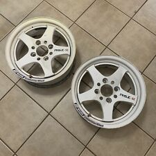 15 Work Rsz R 4x1143 Pair Rare Jdm Wheels
