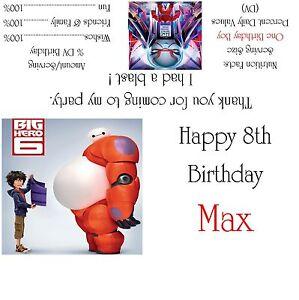 Image Is Loading Disney 039 S Big Hero 6 Candy Bar