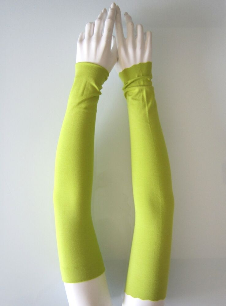 Setenga armstulpen 50cm!! long Kiwi viscose-stretch soft bras brassards brassards