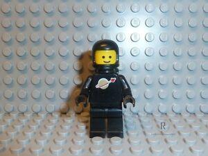 LEGO Space Classic Astronaut Figur Gelb Mit Helm Und Air-Tank 8