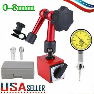 Universal Flexible Magnetic Metal Base Holder Stand Dial Test Indicator Tool ^/&