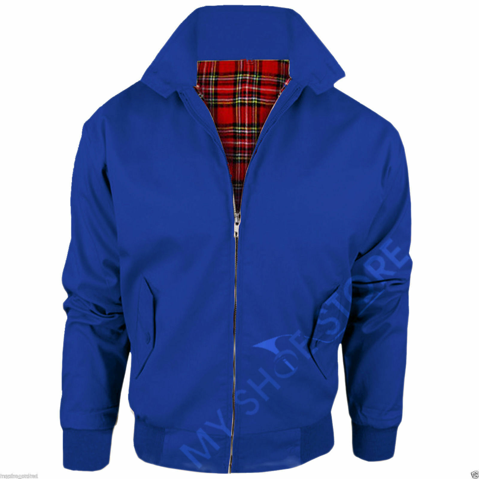 Royal Blue / Harrington Jacket Lightweight Size