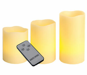 LED-Echtwachskerzen-Set-mit-Fernbedienung-Timer-Dimmer-Wachs-flammenlose-Kerzen