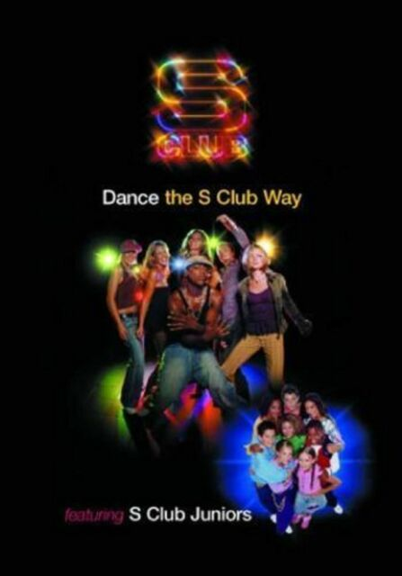 Dance The S Club Way And S Club Juniors New and Sealed Original UK Release R2