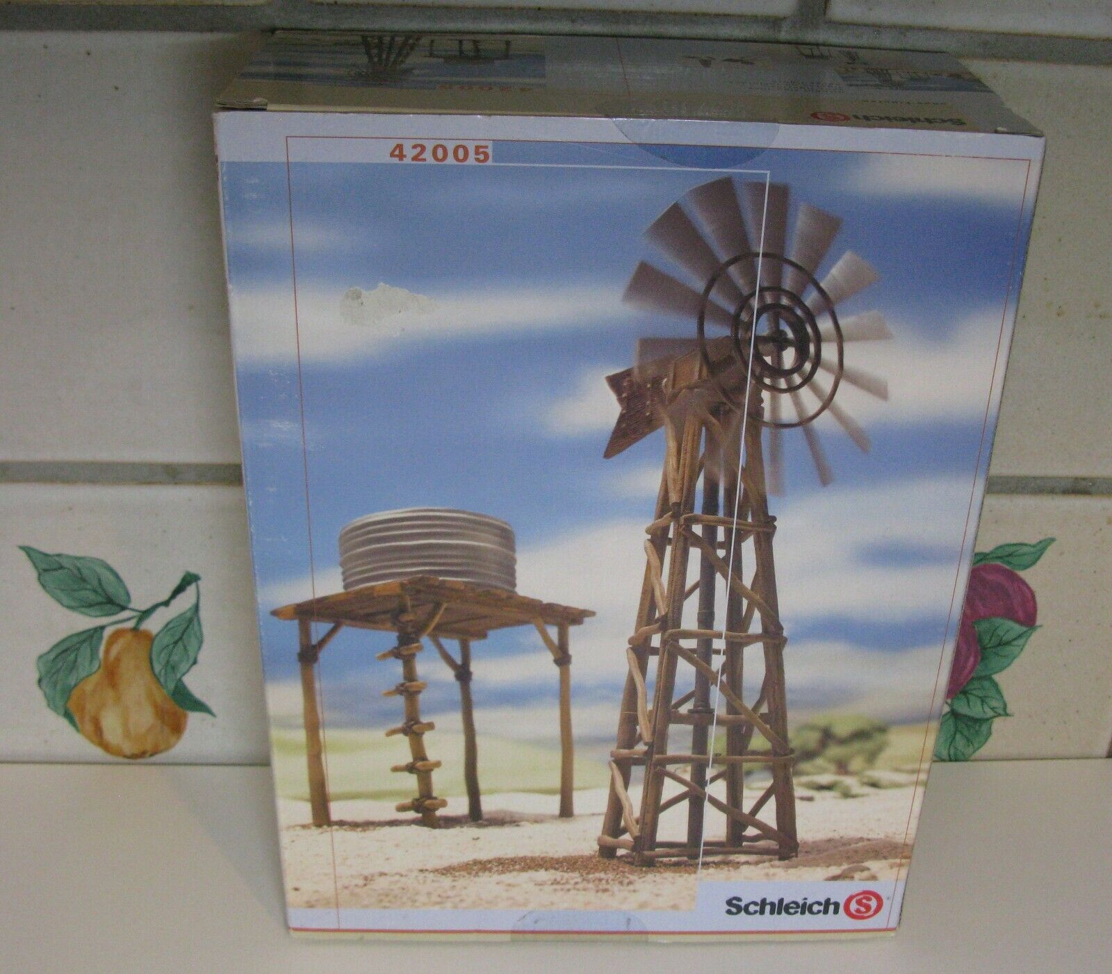 Schleich Water Pump Station and Windmill #42005 (PARTS STILL SEALED IN PLASTIC)