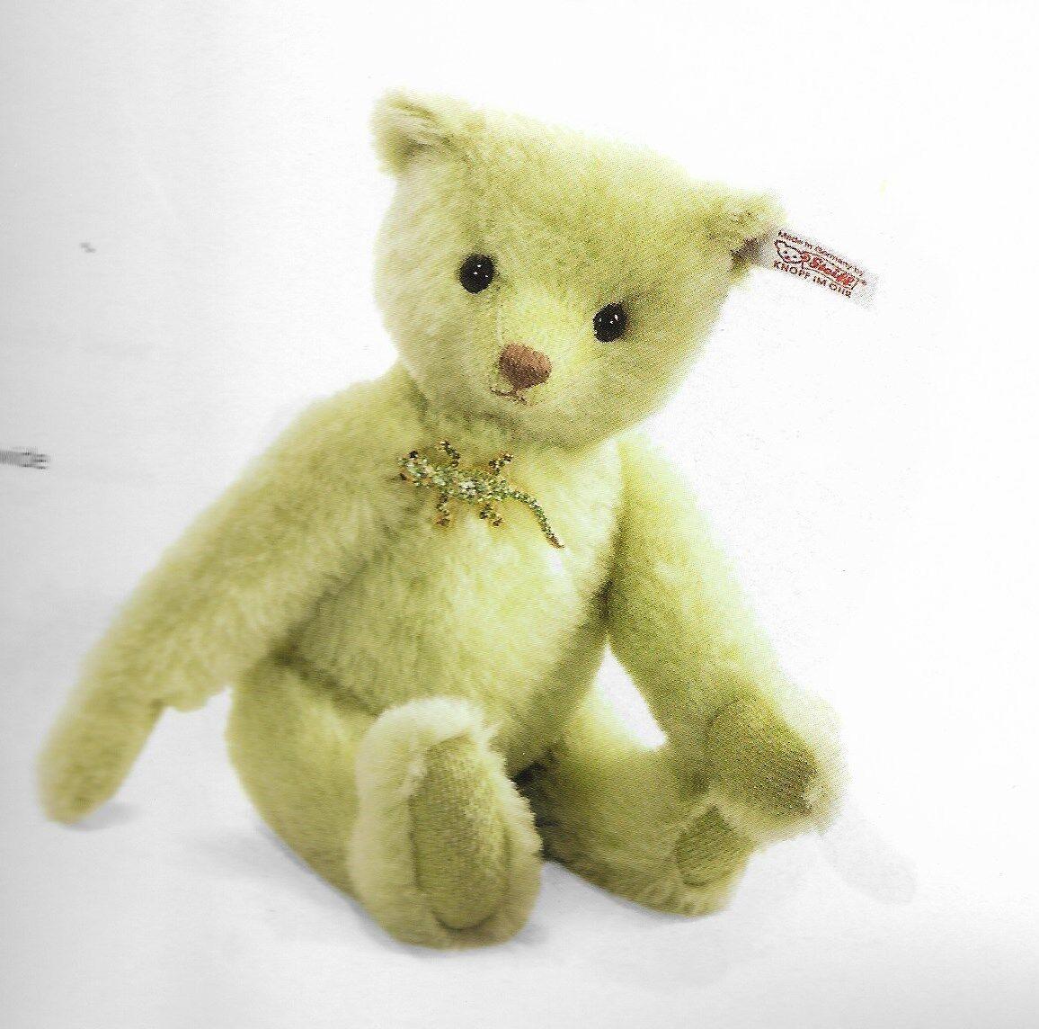 STEIFF  LYSANDER TEDDY BEAR  EAN 034923  DELICATE verde ALPACA -LIM EDITION-10