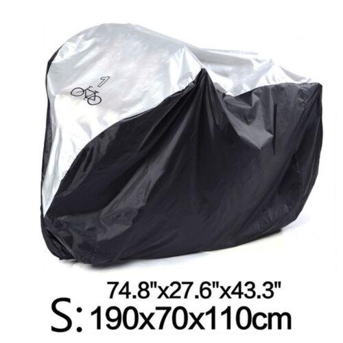Single//Double//Triple Bike Bicycle Cycle Cover Waterproof Dust Rain Sun Protector
