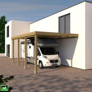 Anbau Carport 4x7 für Wohnwagen + Wohnmobil, Schneelast 98 Kg/qm
