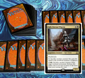 mtg-BLACK-WHITE-ORZHOV-AYLI-COMMANDER-EDH-DECK-Magic-the-Gathering-vona-yosei