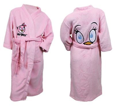 Pink dressing gown age 11//12 years new very soft.