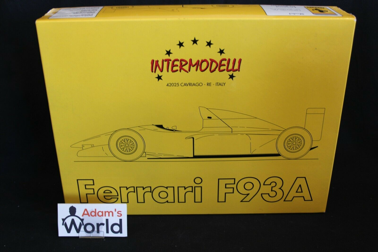 Intermodelli unbuilt kit resin Ferrari F93A 1993 1 12  27    28 (PJBB)