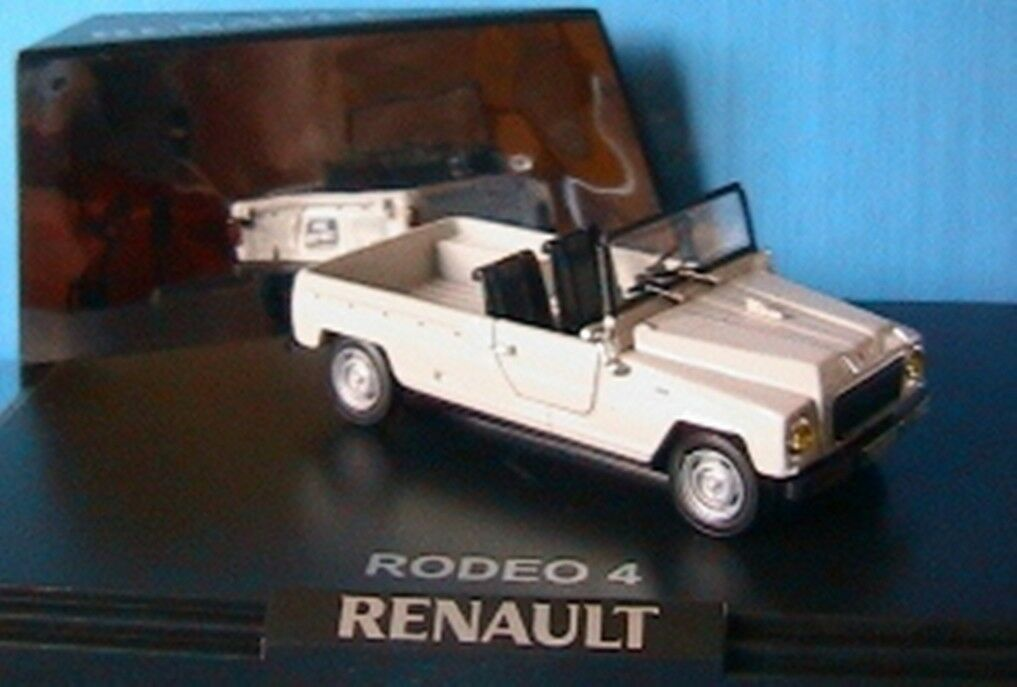 RENAULT RODEO 4 whiteHE WHITE NOREV 7711424944 1 43 + CAPOTE NEW WEISS