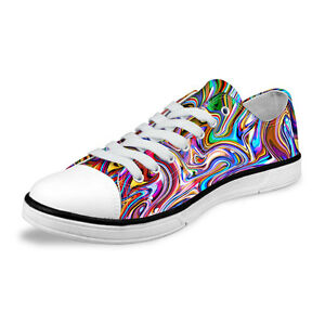 cool funky women ladies canvas shoes comfort lightweight