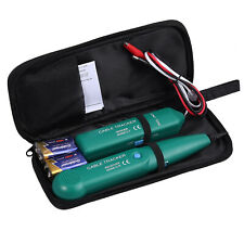New Listingnetwork Rj11 Line Finder Cable Tracker Tester Toner Electric Wire Tracer Pouch