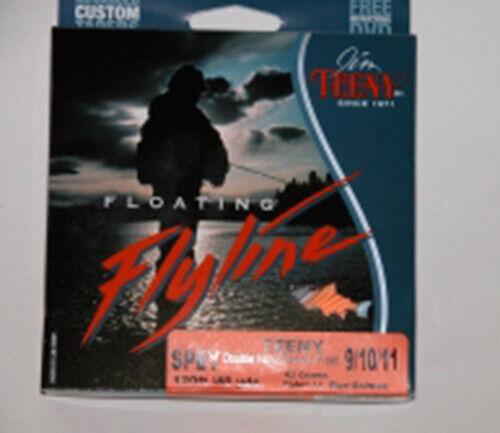 TEENY SPEY LINE 120FT DOPPEL HAND 9 10 11 FLOATING NEU