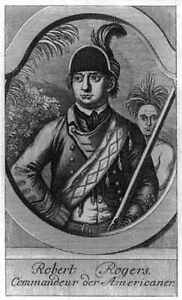 Robert Rogers,1731-1795,American Colonial Frontiersman,military uniform