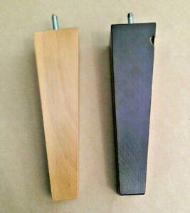 4 X Solid Wood Furniture Feet/Corner Legs - 210mm, 21cm - Sofa, Settee, Chair M8   EBay