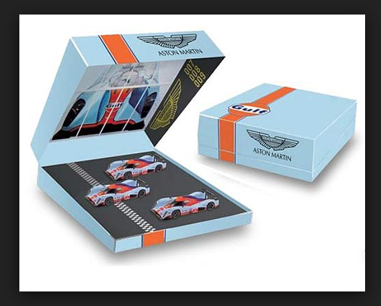 Aston Martin LMP1 le mans 2009 n°7-8-9 270512 1 43 Norev