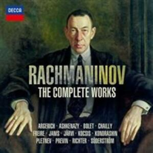 Various-Artists-Rachmaninov-The-Complete-Works-Nuevo-CD