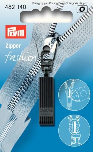 PRYM FASHION-Zipper LAMPO-Zipper Casual Nero 482140