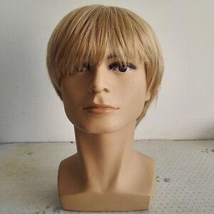 1-Cheveux-Synthetiques-Mode-homme-Perruque-homme-carre-3-couleurs