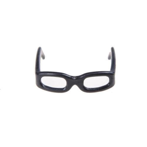 set Accessori bambola di moda Occhiali neri per bambola 10pcs