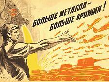 PROPAGANDA POLITICAL MILITARY VICTORY USSR WAR WWII RED ARMY LV3744
