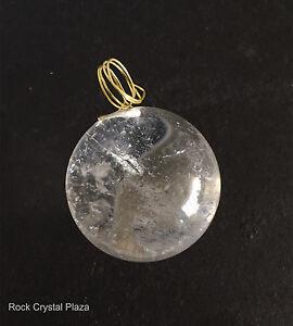 Natural rock crystal quartz chandelier pendants parts v hole ball image is loading natural rock crystal quartz chandelier pendants parts v aloadofball Images