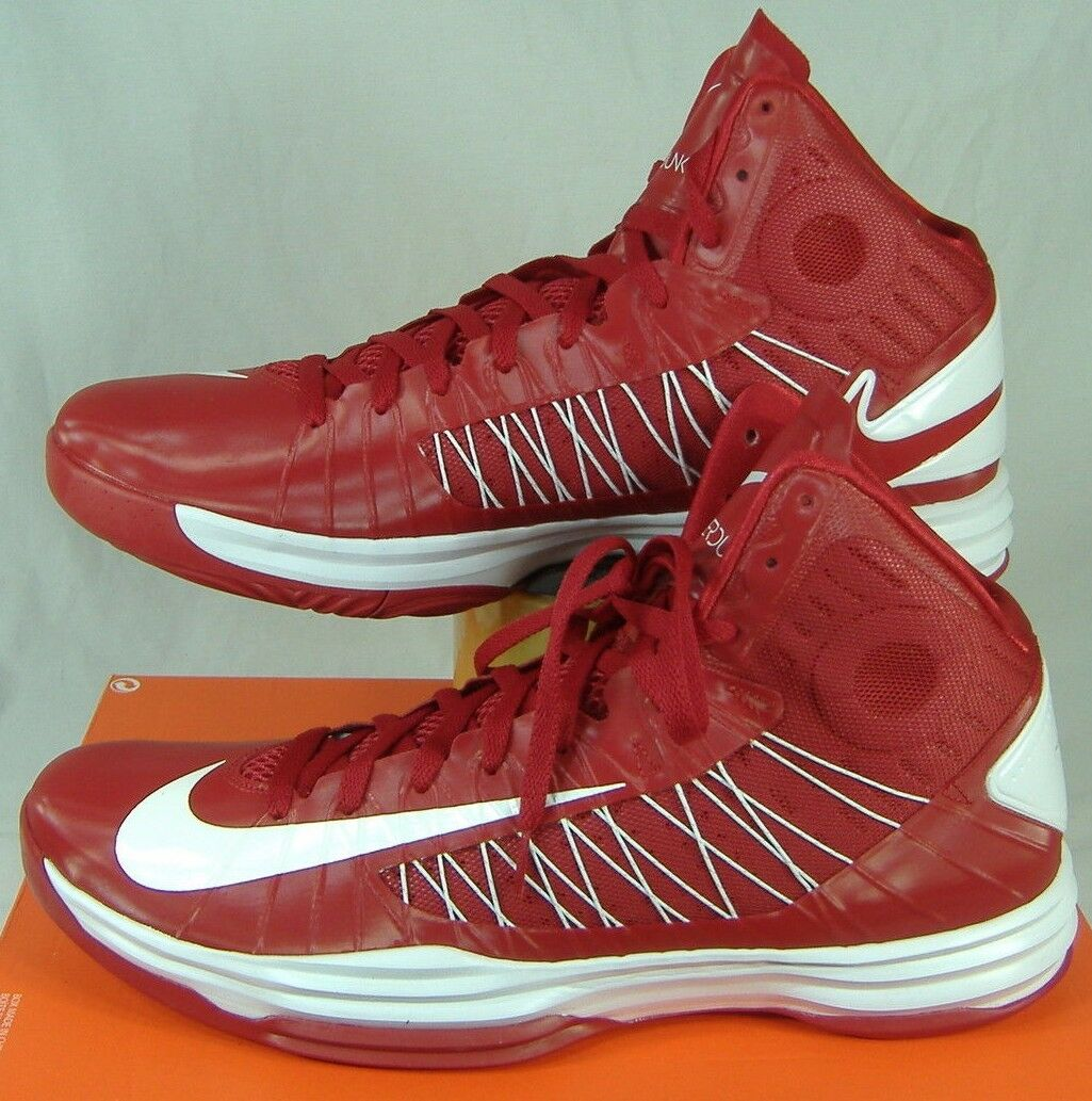 New Mens 18 NIKE Hyperdunk TB Red White High Top Basketball Shoes140 524882-601