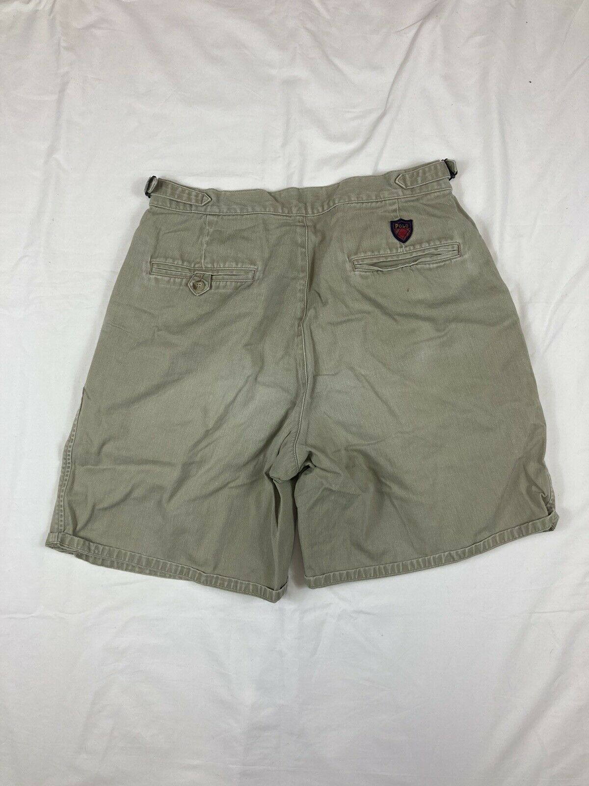 POLO RALPH LAUREN Shorts Chino Pleated 90s 80s VT… - image 7