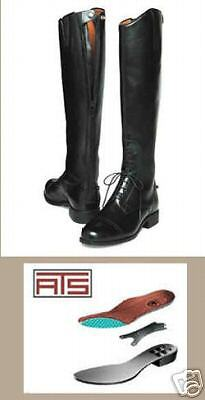 Nuevo Ariat reto campo botas Cremallera señoras 7 de altura delgado de altura de la pantorrilla