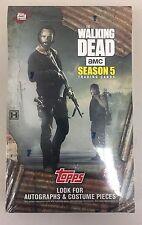 2016 Topps The Walking Dead Season 5 Trading Cards Factory Sealed Hobby Box AMC