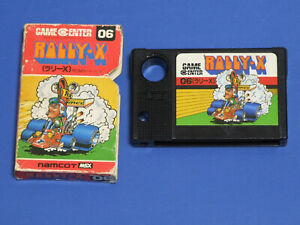 RALLY-X-MSX-Game-namcot-Import-Japan