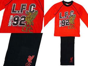 Liverpool-FC-Ninos-LFC-Lo-mas-NUEVO-1892-Club-de-futbol-Pijama-algodon-4-12-ANOS