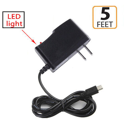 AC//DC Wall Charger Power Adapter+USB Cord for Asus ZenPad 8.0 Z380M Z380C Tablet