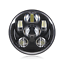 5-75-034-gloss-black-LED-daymaker-bullet-headlight-Harley-Sportster-dyna-softail-XL thumbnail 6