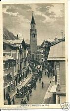 ve 011 1936 Cortina d'Ampezzo (Belluno) - Animata - Automobili - Non viaggiata