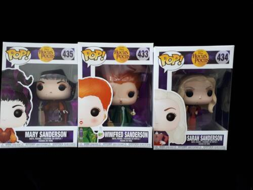 Disney Hocus Pocus Funko Pop Vinyl Winifred, Sarah and Mary Sanderson Sisters