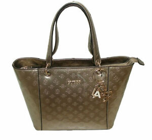 Dettagli su Guess Borsa shopping donna digital VG68 5303
