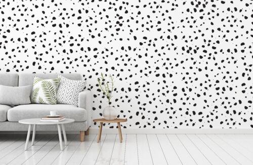 95 DALMATIAN DOTS  wall decal stickers Polka Dot Print Bedroom nursery interior