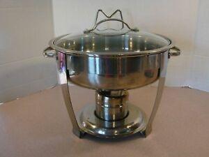 gourmet buffet 4 qt chafing dish stainless steel warming tray rh ebay com