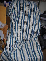 Hand Crocheted Afghan Blanket Throw Heirloom