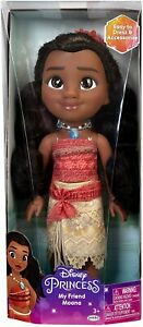 """Disney Princess My Friend Moana Doll 14/"""" Tall with Removable Outfit and Headband"""