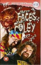 WWF Three Faces of Mick Foley ORIG VHS WWE Wrestling