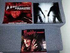 Calendars, Freddy Krueger 1990 , 2004 Freddy vs Jason, 2005 Nightmare Elm Street