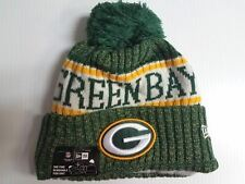 ab87c13e1f6 Green Bay Packers New Era Knit Hat On Field 2018 Sideline Beanie Stocking  Cap